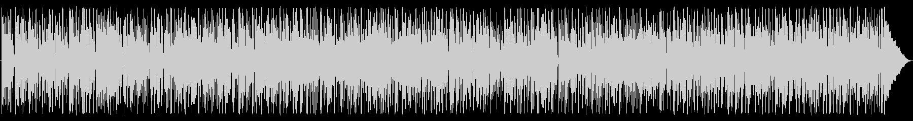 優しく軽快なファンクロックの未再生の波形