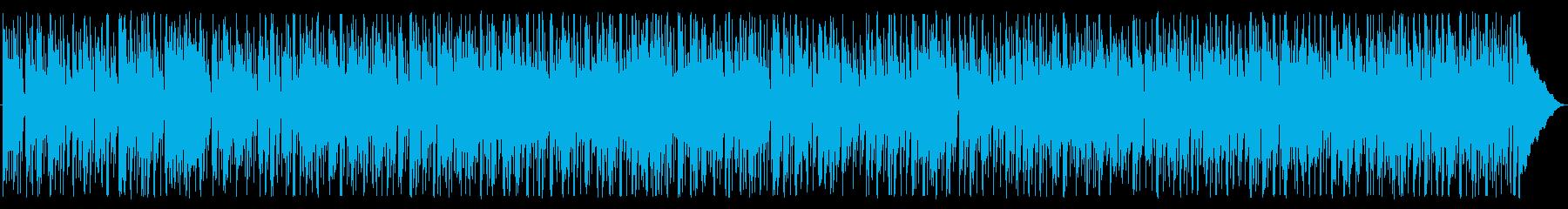優しく軽快なファンクロックの再生済みの波形