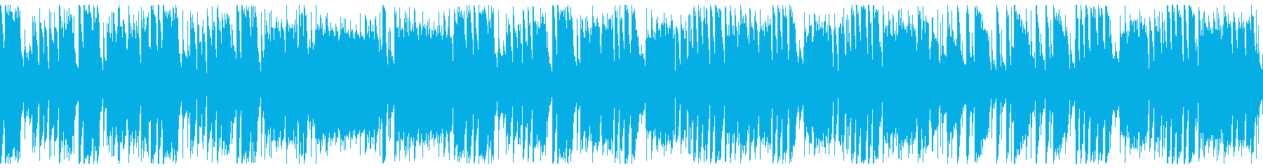明るく速い 豪華ビッグバンド(ループの再生済みの波形