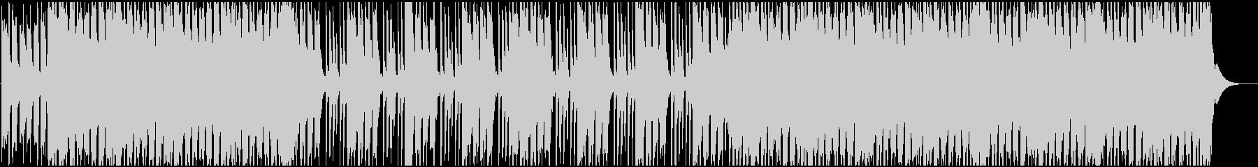 ポップロックなギターリフの未再生の波形