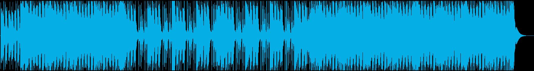 ポップロックなギターリフの再生済みの波形