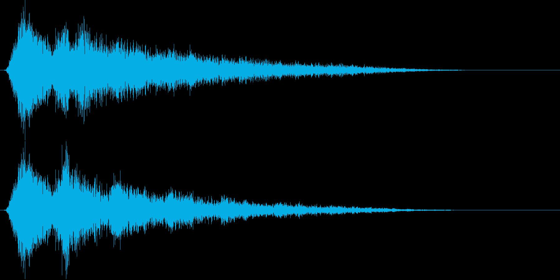 ピュンピュンピュン… (自機爆破)の再生済みの波形
