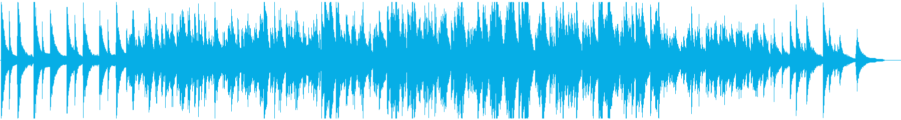 おしゃれで爽やかなピアノポップスの再生済みの波形