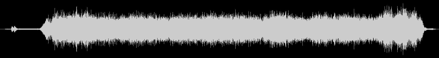 リモート制御ドローン:ホバーアンドフライの未再生の波形