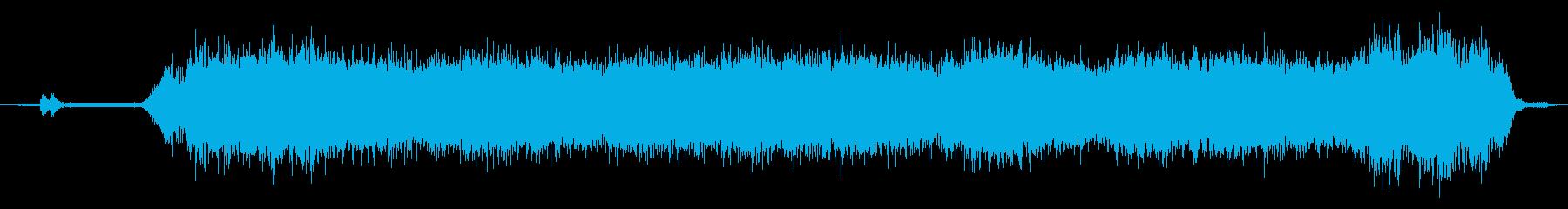 リモート制御ドローン:ホバーアンドフライの再生済みの波形