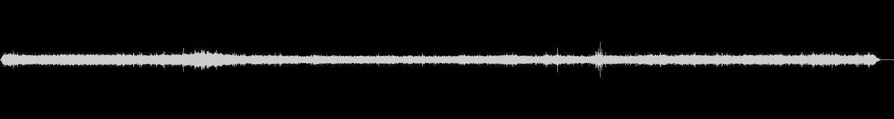 リモート海-風の未再生の波形