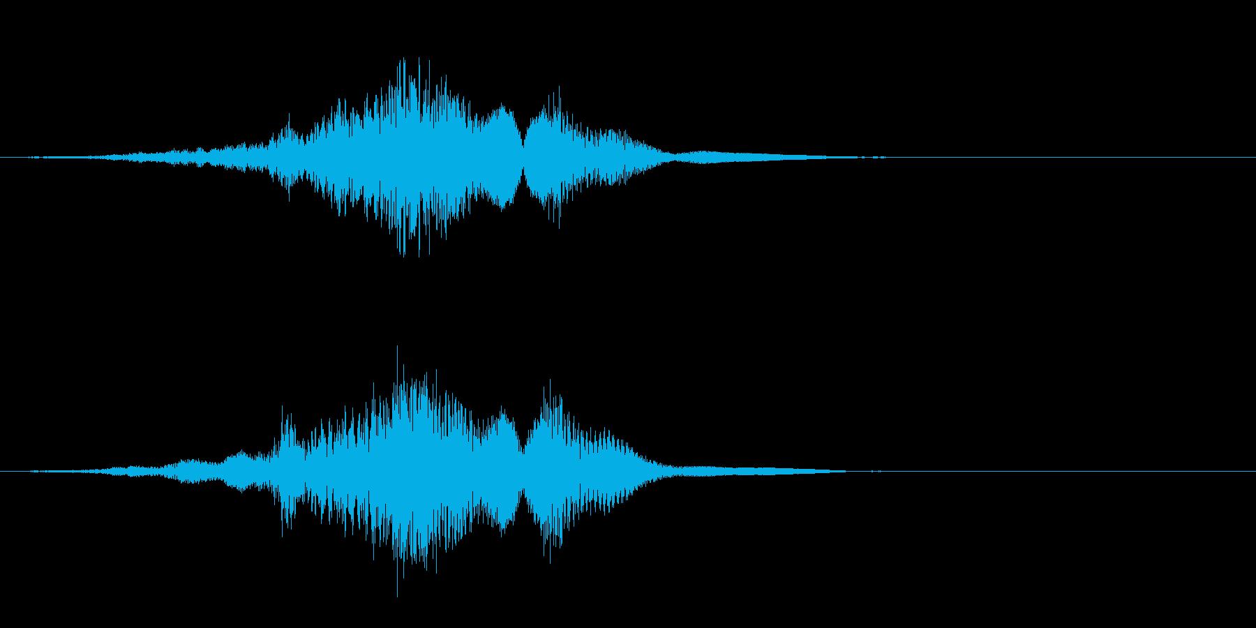 ヒューッシュエアリーエンティティム...の再生済みの波形