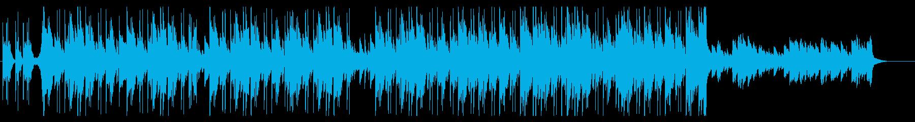 トラップ_切ないピアノ_ヒップホップの再生済みの波形