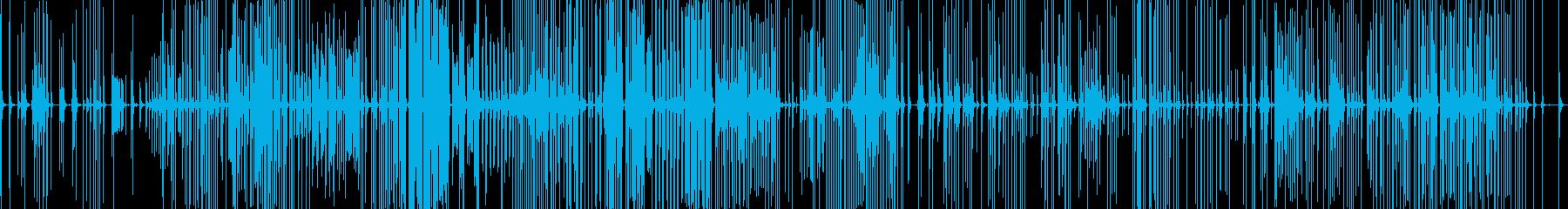 三味線184秋の色種5箏曲乱れみだれ琴萩の再生済みの波形