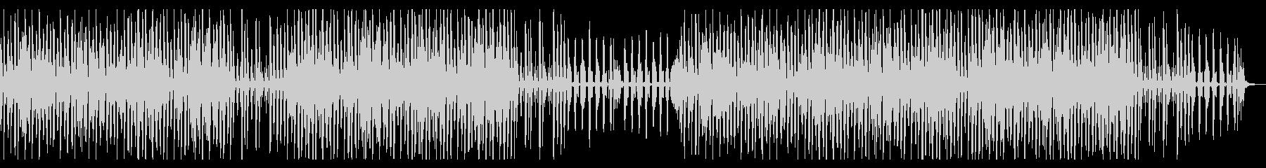 ピアノがはずむ可愛いトークBGMの未再生の波形