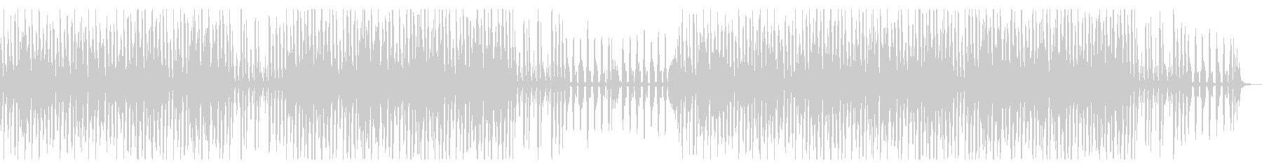 YouTube ピアノ可愛いトークBGMの未再生の波形