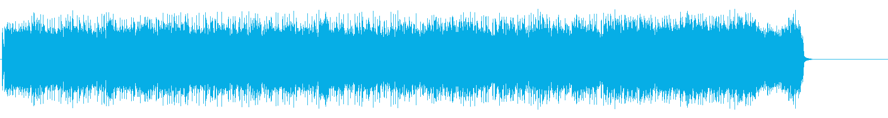 風が駆け抜けるロック(サビ~エンド)の再生済みの波形