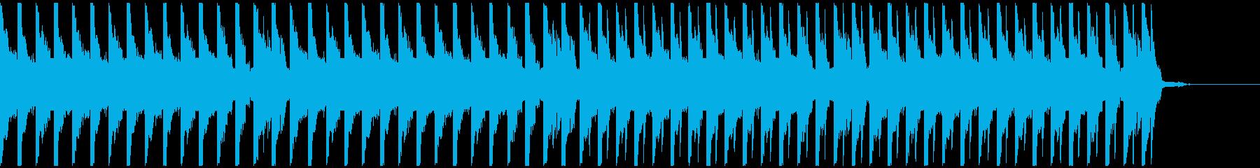 オシャレ・戦闘・スリリングEDM、⑤の再生済みの波形