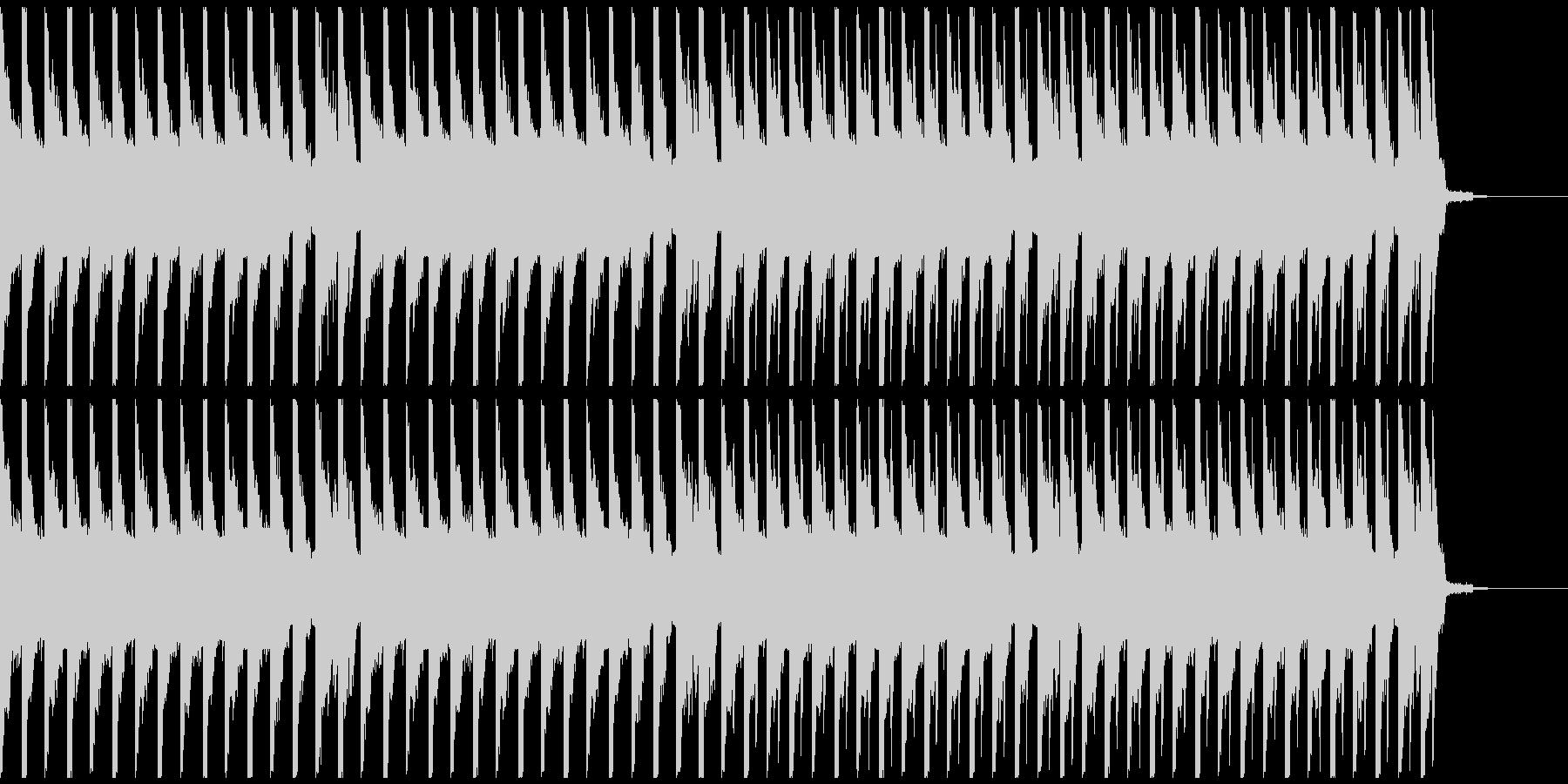 オシャレ・戦闘・スリリングEDM、⑤の未再生の波形