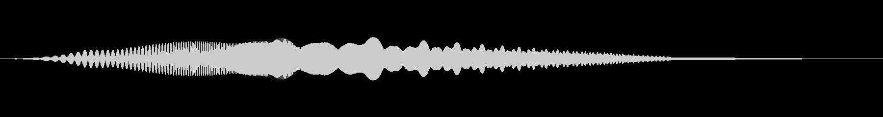 MediaFX VTRの始まりの音 1の未再生の波形