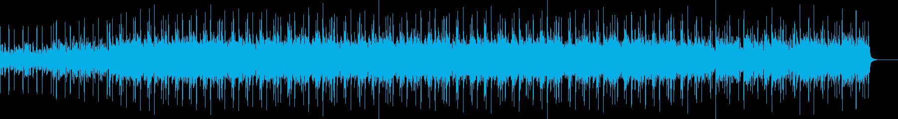 サックスの音色が鳴り響く軽~いポップスの再生済みの波形
