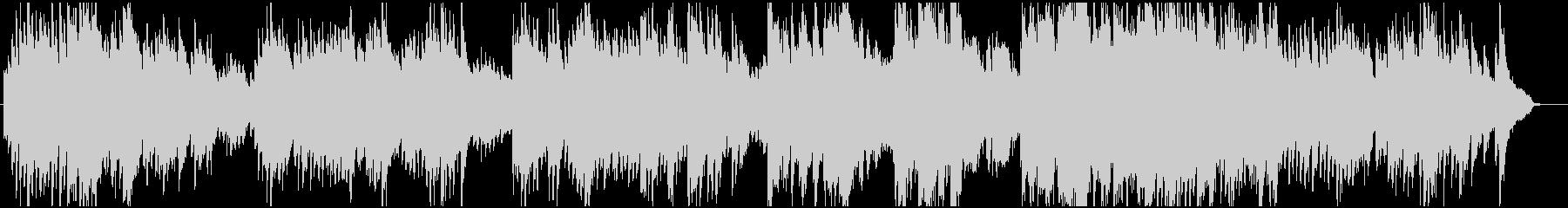 切ないメロディーのピアノインストの未再生の波形