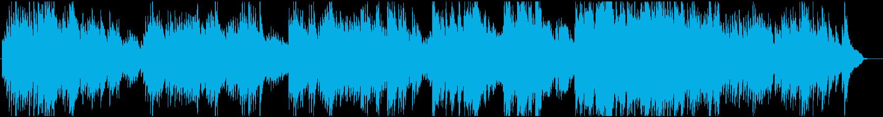 切ないメロディーのピアノインストの再生済みの波形