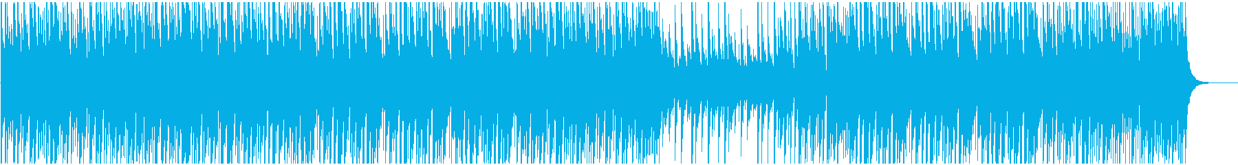 クリスマスBGM 可愛くしっかりサウンドの再生済みの波形