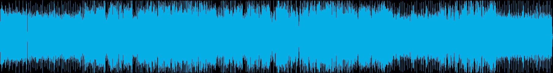 アップテンポなアニソンOP向けロックの再生済みの波形