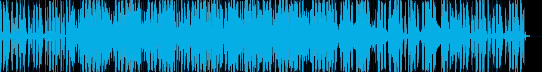 BGMとして使えるミステリアスEDMの再生済みの波形