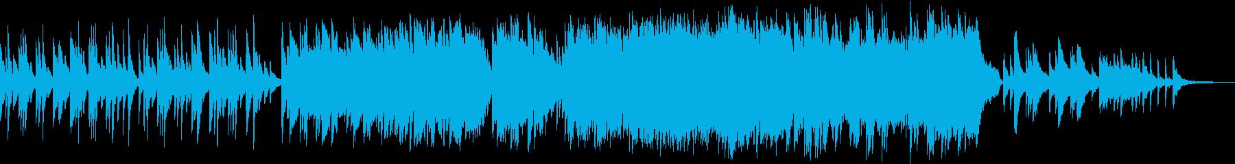 アメイジング・グレイスのピアノソロ曲の再生済みの波形