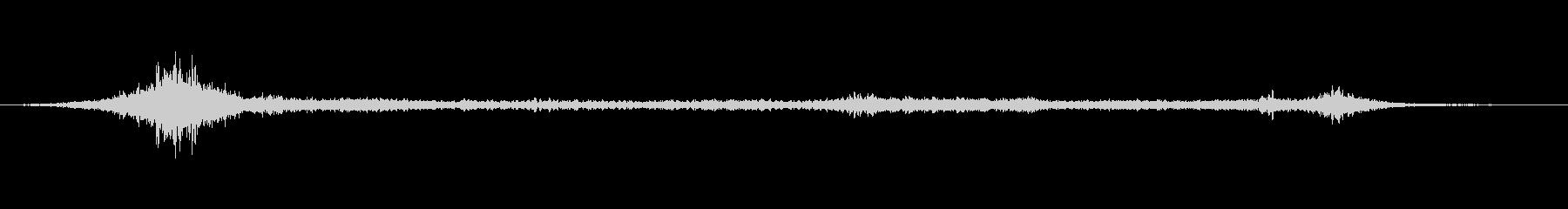 プエブロの風0-40の未再生の波形