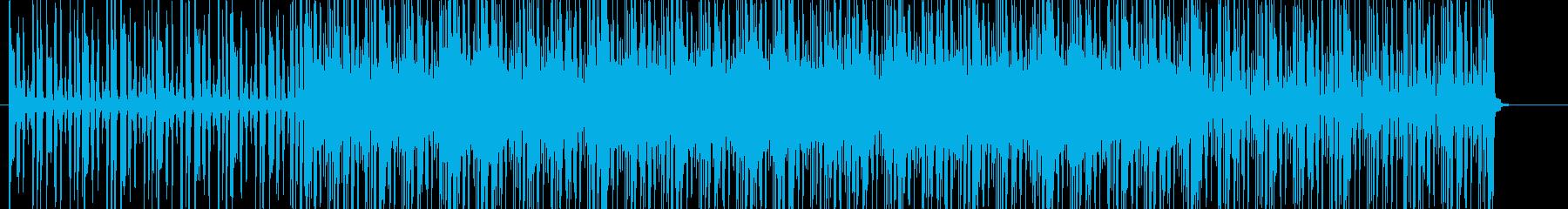 お洒落でかっこいいクラブジャズBGMの再生済みの波形