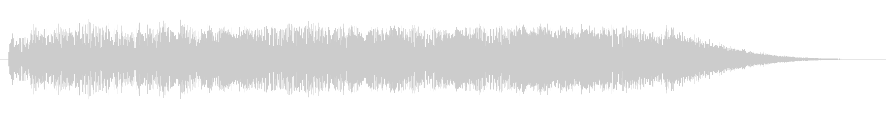機械 ホラーオーケストラロング03の未再生の波形