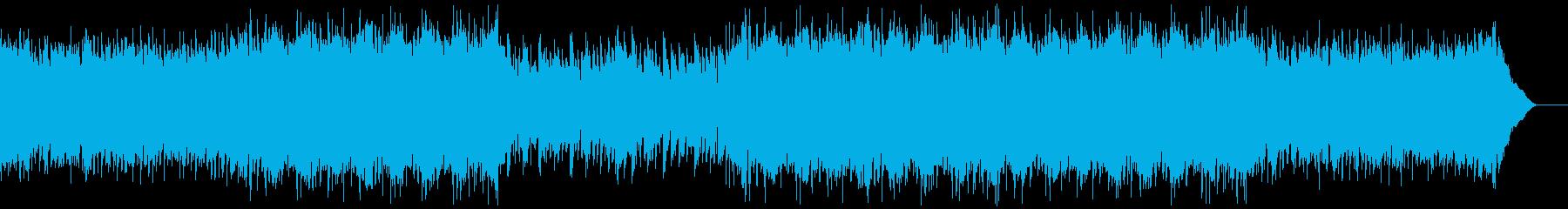 Youtube・爽やかな夏の海・ポップの再生済みの波形