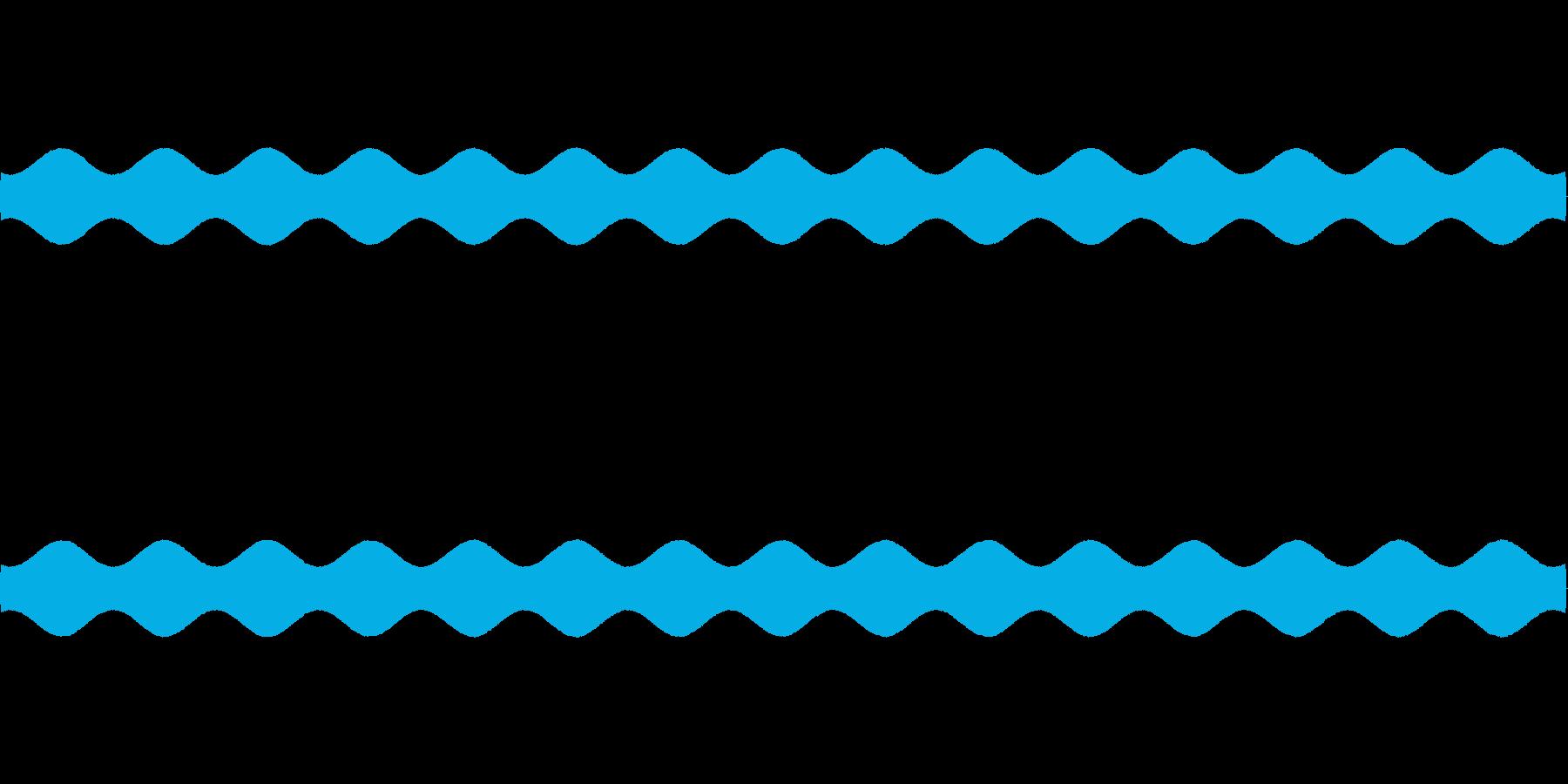 【場面効果音17-4L】の再生済みの波形