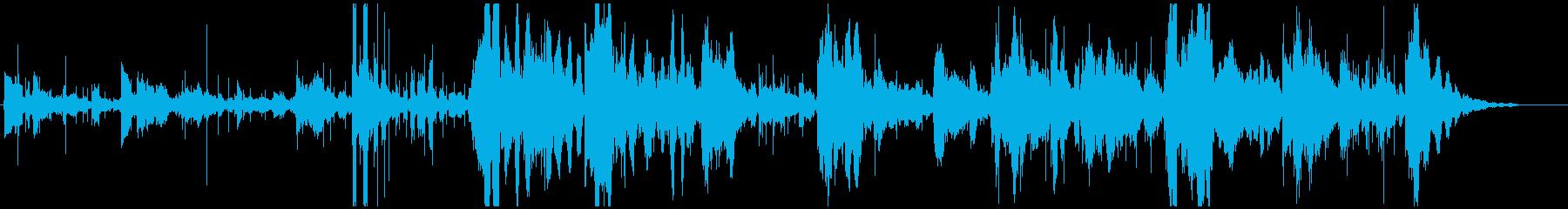 ボーッとしてしてしまうときのBGMですの再生済みの波形