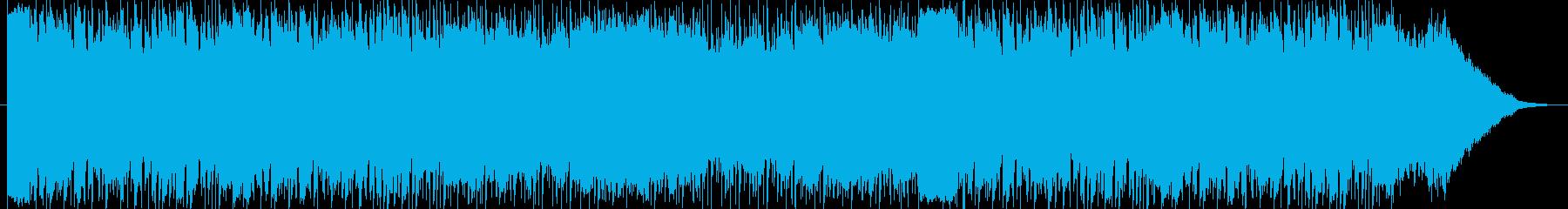 アラビア風のBGM 音色追加版の再生済みの波形
