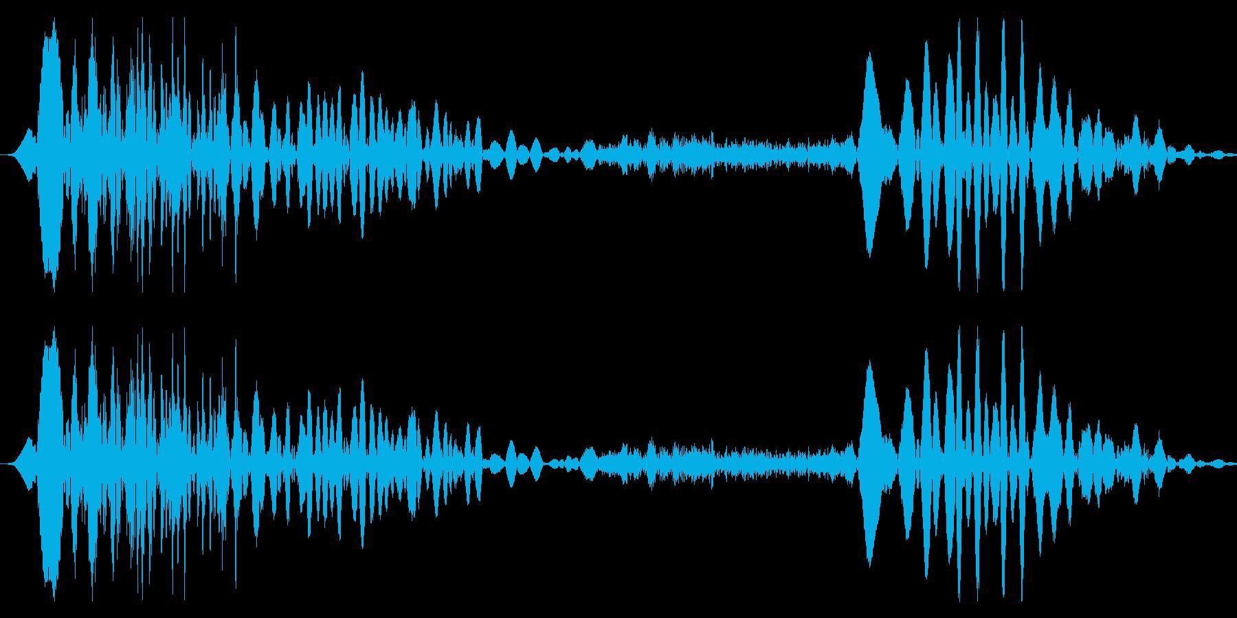 ドラゴン モンスター  ゲーム 考え中の再生済みの波形