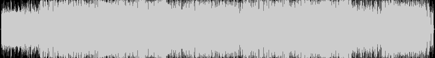電子音ばりばりのデジロックの未再生の波形
