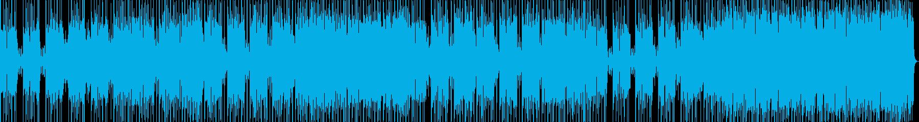 高揚感あるポップで明るいメロディーの再生済みの波形