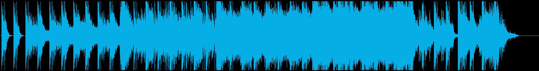 和風BGM 大森林に包まれている様な響きの再生済みの波形