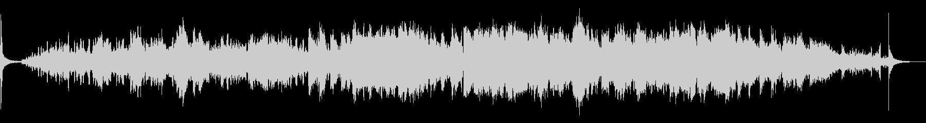 [生演奏]エレピがメインの癒し系楽曲の未再生の波形