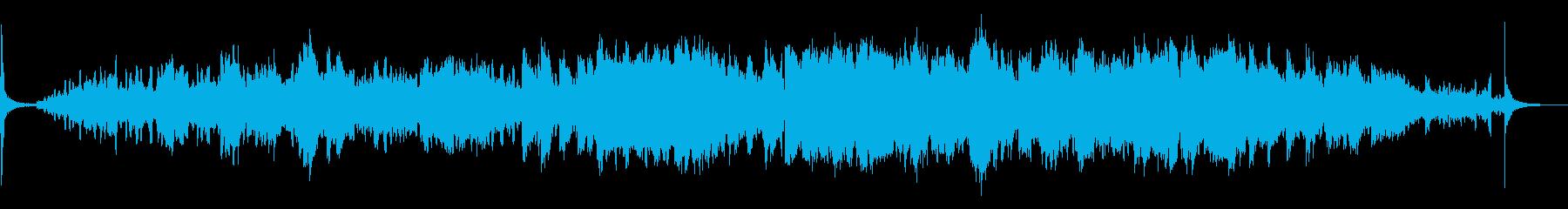 [生演奏]エレピがメインの癒し系楽曲の再生済みの波形