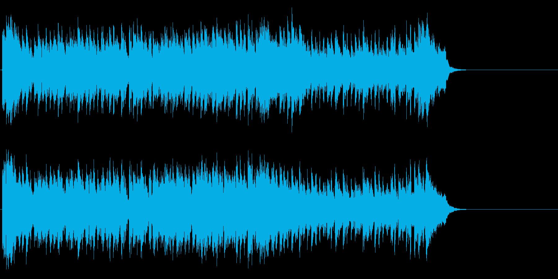 希望に満ちたポップス(サビ~イントロ)の再生済みの波形