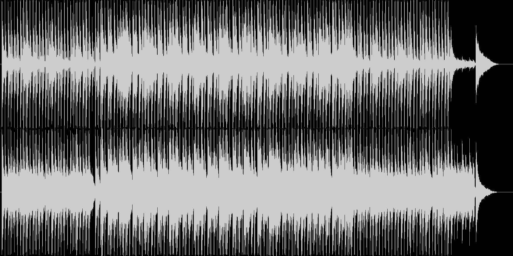 楽しい雰囲気のBGM(60ver)の未再生の波形