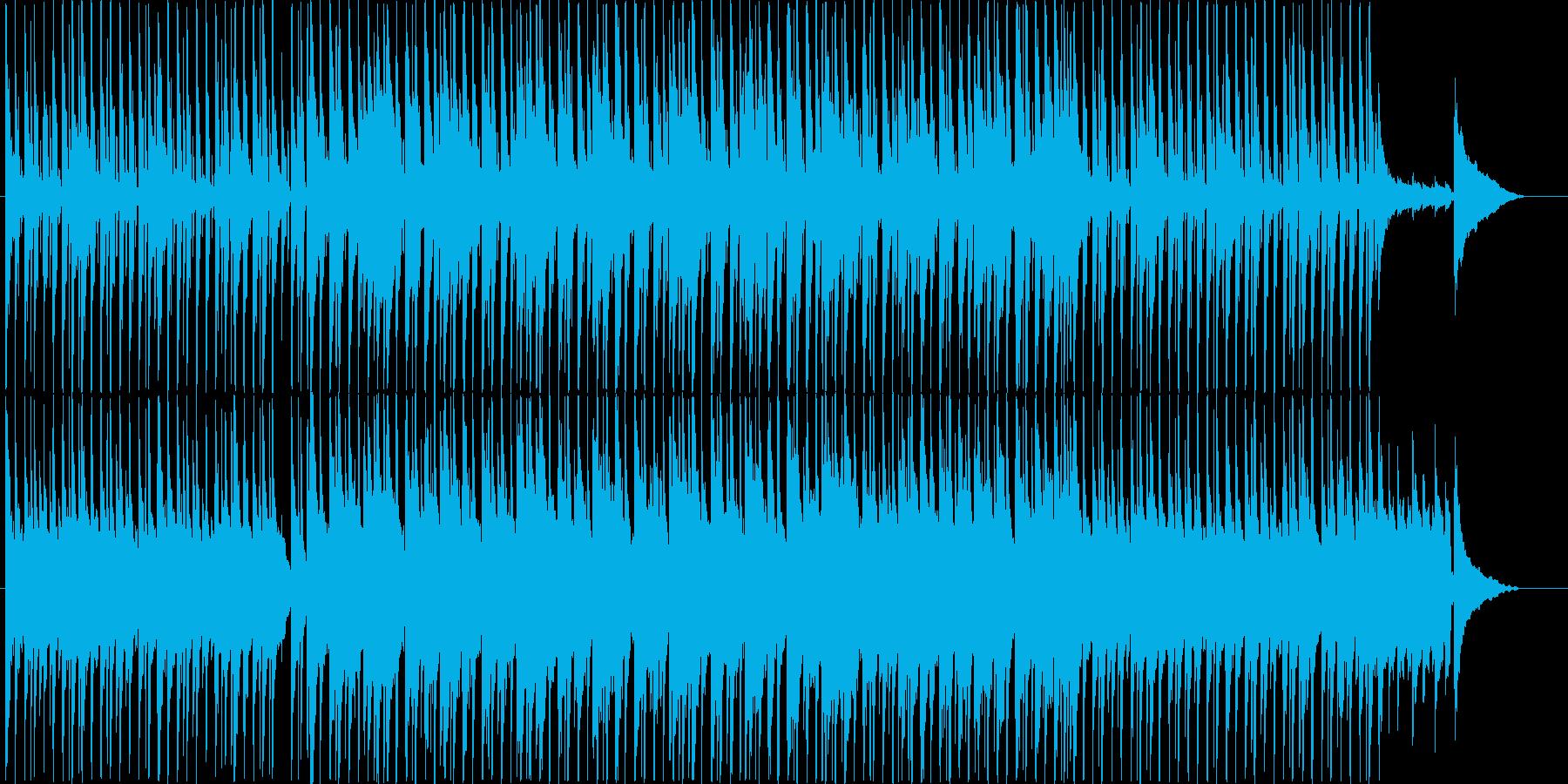 楽しい雰囲気のBGM(60ver)の再生済みの波形