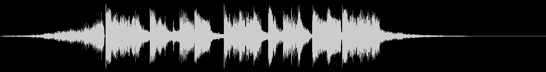 キックALT。混合の未再生の波形