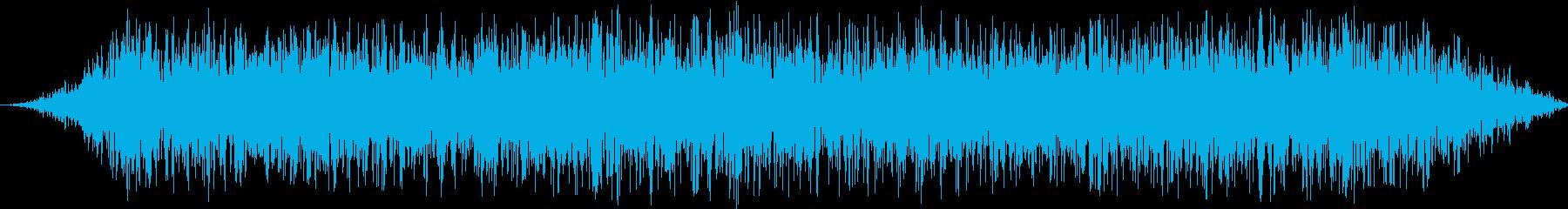 ヘビーアニマルスタンピード:一定の足跡の再生済みの波形