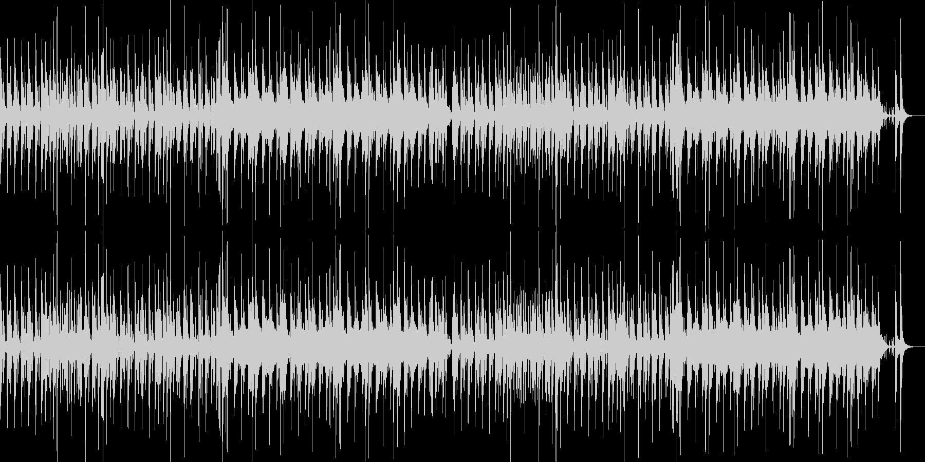 マレット楽器のほのぼのインストの未再生の波形