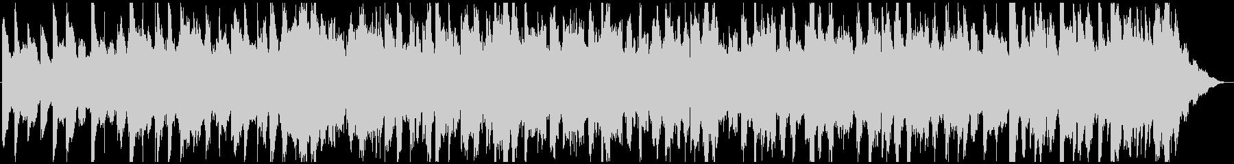 トークや雑談に、落ち着いたBGMの未再生の波形
