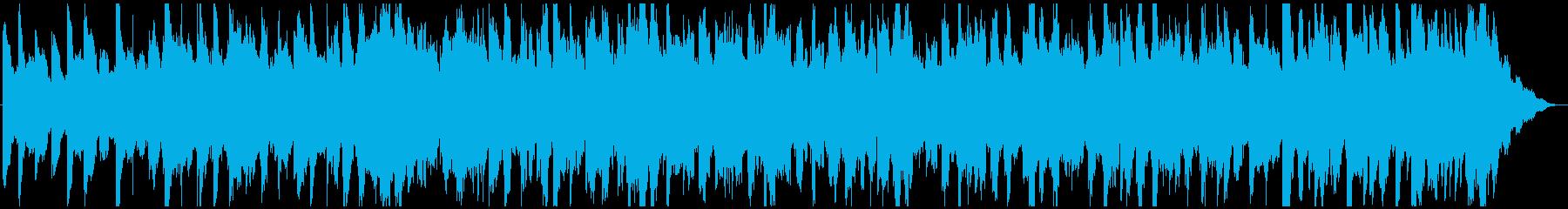 トークや雑談に、落ち着いたBGMの再生済みの波形