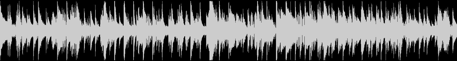 渋いサックス哀愁ジャズバラード※ループ版の未再生の波形