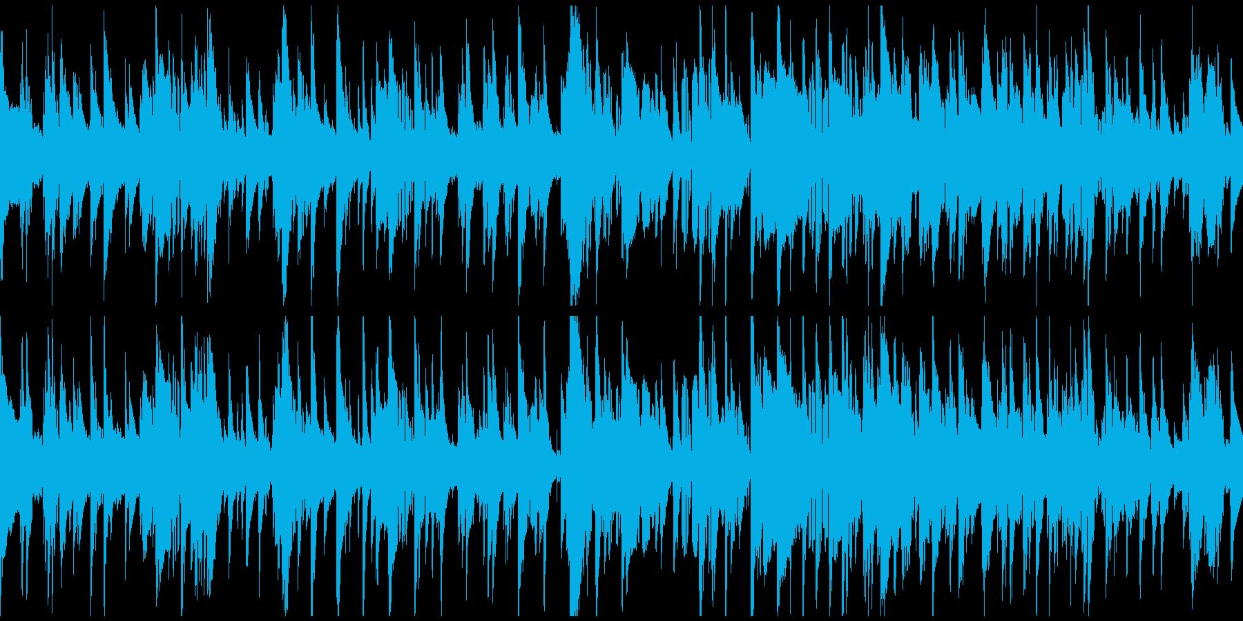 渋いサックス哀愁ジャズバラード※ループ版の再生済みの波形