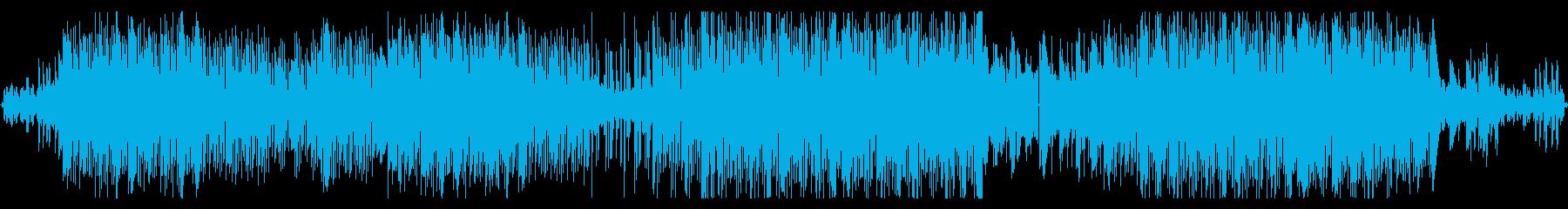 暗いタイプビート風トラックの再生済みの波形